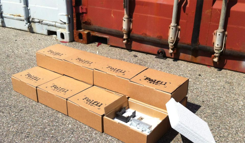 felfil evo basic kit shipping