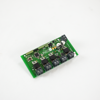 Electronic board filament extruder