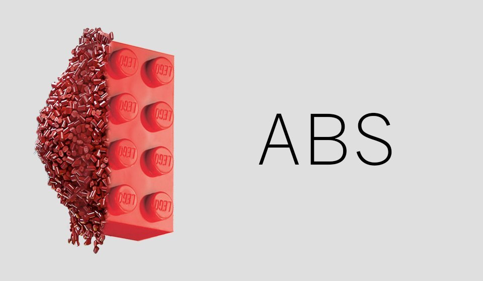ABS plastic filament for 3D printing