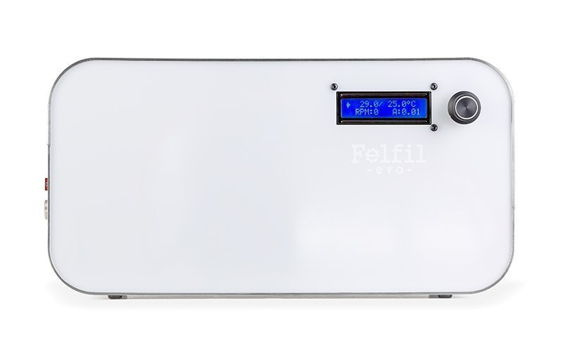 Felfil Evo White, desktop filament maker for 3D printers
