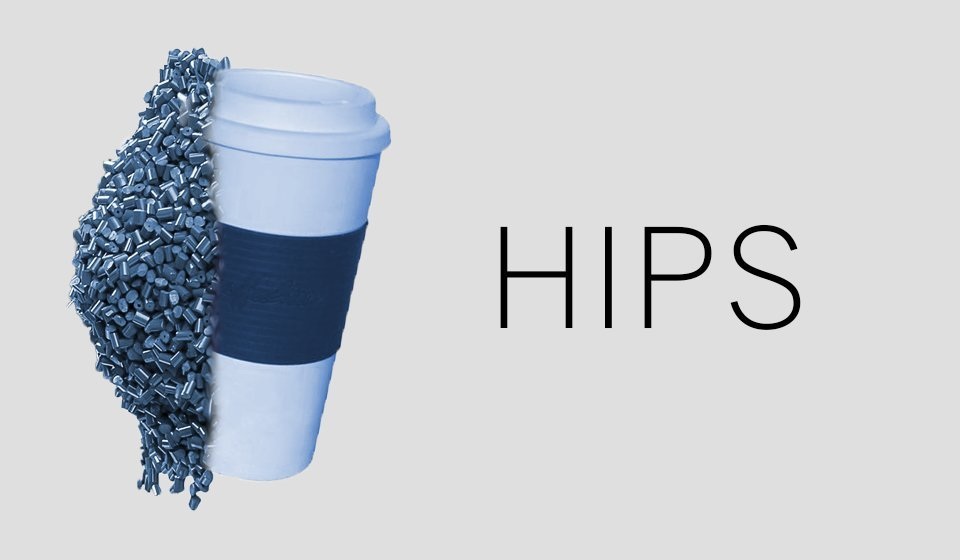 HIPS plastic for 3D printing